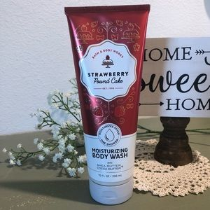NEW Bath and Body Works moisturizing body wash